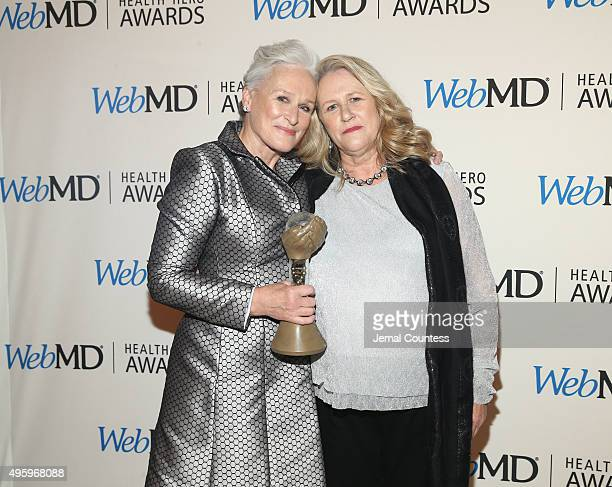 Actress Glenn Close and Jessie Close attend the 2015 Health Hero Awards hosted by WebMD at The Times Cente on November 5 2015 in New York City
