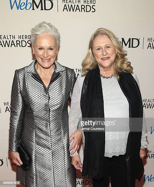 Actress Glenn Close and Jessie Close attends the 2015 Health Hero Awards hosted by WebMD at The Times Cente on November 5 2015 in New York City