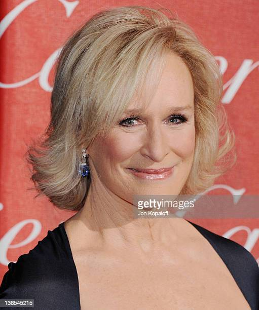 Actress Glenn Close arrives at the 23rd Annual Palm Springs International Film Festival Awards Gala at Palm Springs Convention Center on January 7,...