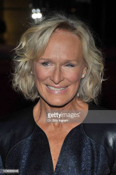 Actress Glenn Close arrives at the 62nd Primetime EMMY Awards Performers Nominee Reception at Pacific Design Center on August 27 2010 in West...