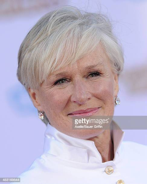 Actress Glenn Close arrives at the Los Angeles premiere of 'Guardians Of The Galaxy' at the El Capitan Theatre on July 21 2014 in Hollywood California