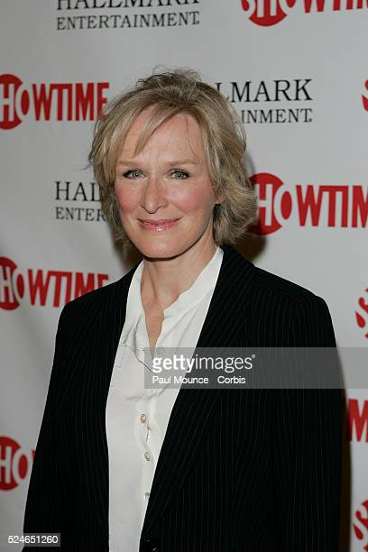 Actress Glenn Close arrives at the world premiere of the Showtime Original Picture The Lion In Winter The cable TV movie tells the story of Henry II...
