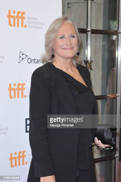 Actress Glenn Close arrives for 'The Big Chill' 30th Anniversary Screening at the 2013 Toronto International Film Festival at Princess of Wales...