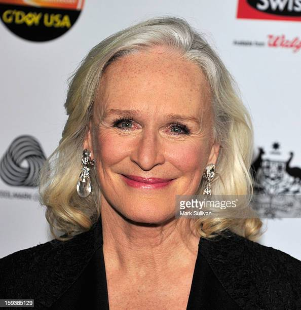Actress Glenn Close arrives for the G'Day USA Black Tie Gala held at at the JW Marriot at LA Live on January 12 2013 in Los Angeles California