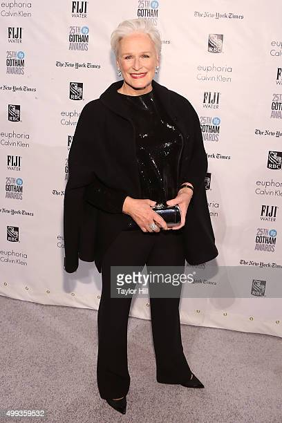 Actress Glenn Close attends the 2015 Gotham Independent Film Awards at Cipriani Wall Street on November 30 2015 in New York City