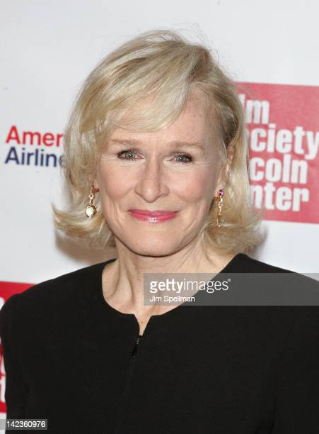 Actress Glenn Close attends the 39th Annual Chaplin Award gala at Alice Tully Hall on April 2, 2012 in New York City.