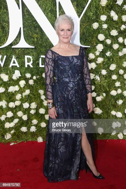 Actress Glenn Close attends the 71st Annual Tony Awards at Radio City Music Hall on June 11, 2017 in New York City.