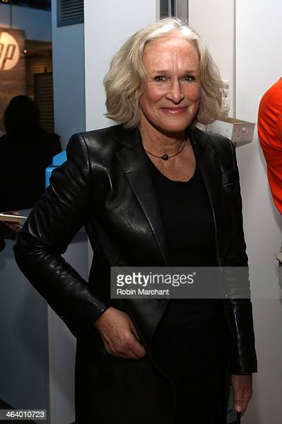 Actress Glenn Close attends the 'A Celebration Of Music In Film' at Sundance House during the 2014 Sundance Film Festival on January 19 2014 in Park...
