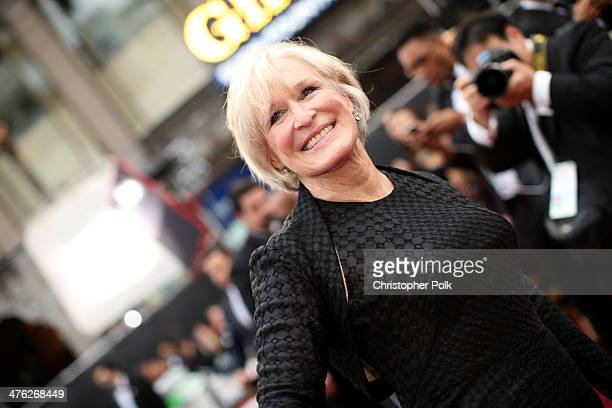Actress Glenn Close attends the Oscars at Hollywood Highland Center on March 2 2014 in Hollywood California