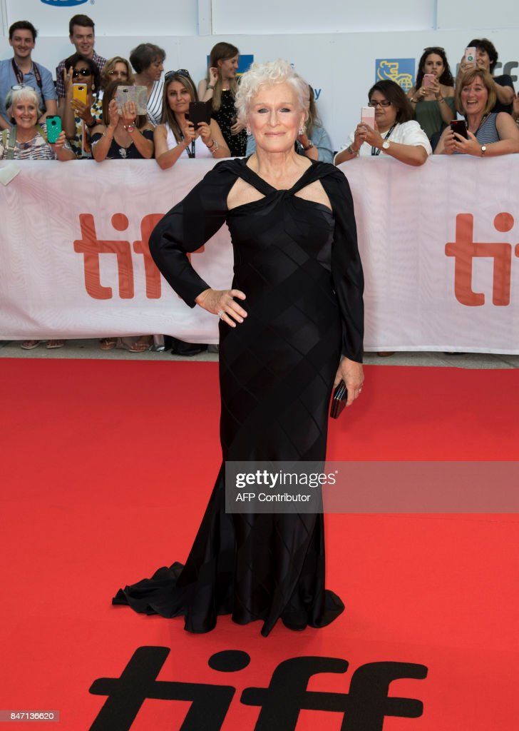 Actress Glenn Close attends the premiere of 'The Wife' during the 2017 Toronto International Film Festival September 14, 2017, in Toronto, Ontario. /