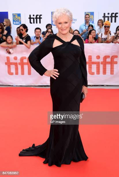 Actress Glenn Close attends the 'The Wife' premiere during the 2017 Toronto International Film Festival at Roy Thomson Hall on September 14 2017 in...