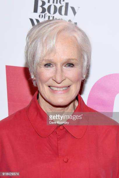 Actress Glenn Close attends V20 The Red Party a 20th anniversary celebration of VDay and The Vagina Monologues featuring a performance by Eve Ensler...