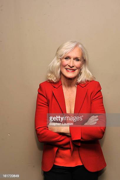 Actress Glenn Close attends VDay And One Billion Rising's RISE NYC at Hammerstein Ballroom on February 14 2013 in New York City