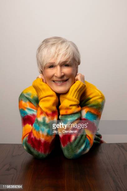 Actress Glenn Close from 'Four Good Days' is photographed in the L.A. Times Studio at the Sundance Film Festival on January 25, 2020 in Park City,...