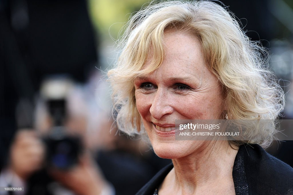 US actress Glenn Close leaves after the screening of 'Tamara Drewe' presented out of competition at the 63rd Cannes Film Festival on May 18, 2010 in Cannes.