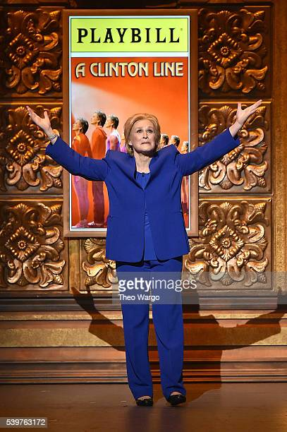 Actress Glenn Close performs onstage during the 70th Annual Tony Awards at The Beacon Theatre on June 12 2016 in New York City