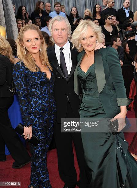 Actress Glenn Close with daughter Annie Starke and husband John H Starke arrive at the 84th Annual Academy Awards held at the Hollywood Highland...