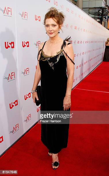 Actress Glenne Headly arrives at the 36th AFI Life Achievement Award tribute to Warren Beatty held at the Kodak Theatre on June 12 2008 in Hollywood...