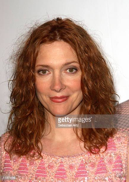 Actress Glenne Headly arrives at the premiere of the movie 'Women Vs Men' on July 23 2002 in Los Angeles California