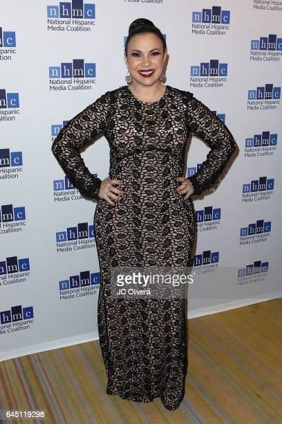 Actress Gloria Calderon Kellett attends the 20th Annual National Hispanic Media Coalition Impact Awards Gala at Regent Beverly Wilshire Hotel on...