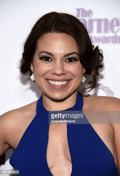 Actress Gloria Garayua arrives at the 3rd Annual Carney Awards at The Broad Stage on October 29 2017 in Santa Monica California