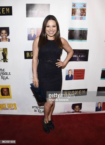 Actress Gloria Garayua arrives at the FYC Us Independents Screenings and Red Carpet at the Elks Lodge on May 25 2018 in Van Nuys California