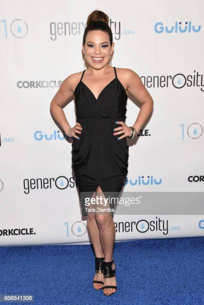 Actress Gloria Garayua attends a Generosityorg fundraiser for World Water Day at Montage Hotel on March 21 2017 in Beverly Hills California