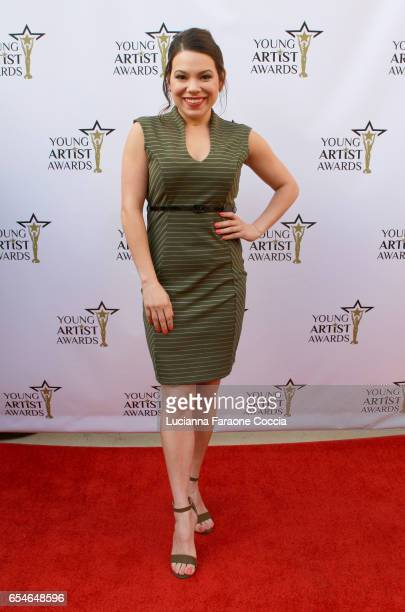 Actress Gloria Garayua attends the 38th Annual Young Artists Awards at Alex Theatre on March 17 2017 in Glendale California
