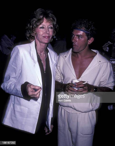 Actress Gloria Graham attends the opening of 'Light Up The Sky' on August 14 1981 at the Guild Hall Theater in East Hampton New York