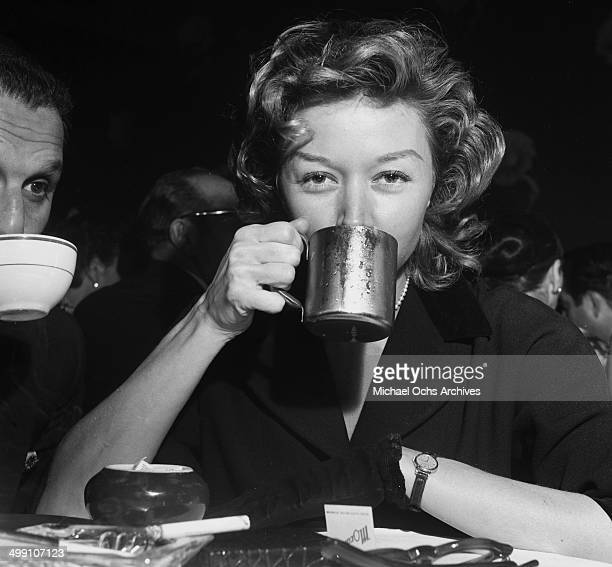 Actress Gloria Grahame at Mocambo in Los Angeles California
