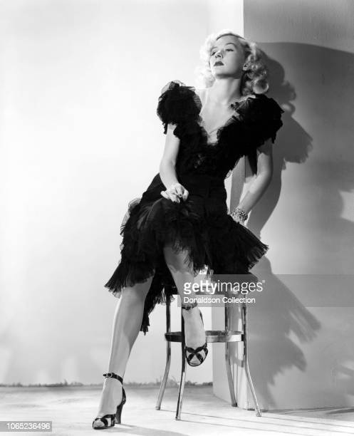 Actress Gloria Grahame in a scene from the movie Crossfire