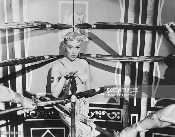 Actress Gloria Grahame in a scene from the movie Meet Me After the Show