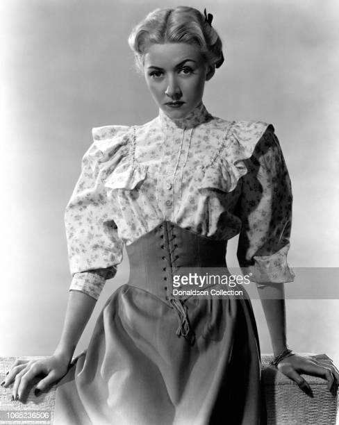 Actress Gloria Grahame in a scene from the movie Roughshod