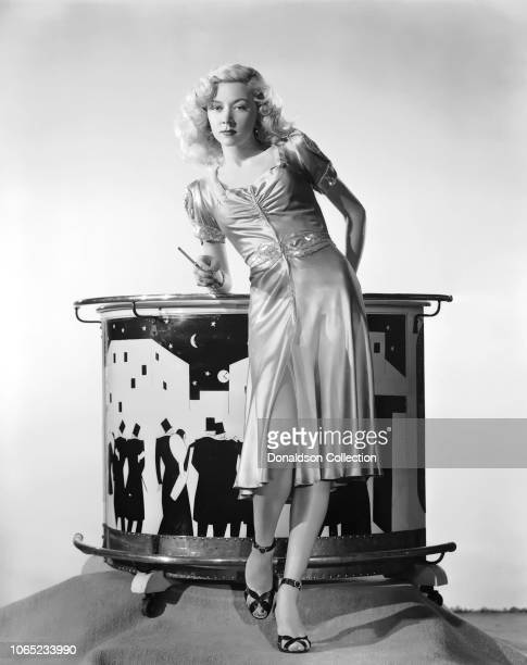 Actress Gloria Grahame in a scene from the movie Song of the Thin Man