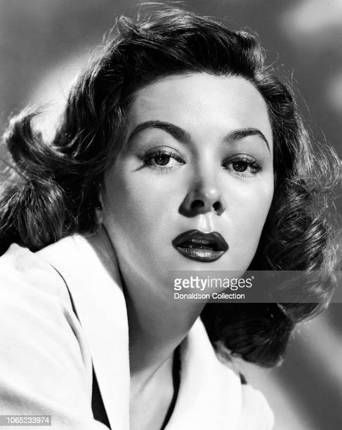 Actress Gloria Grahame in a scene from the movie The Cobweb