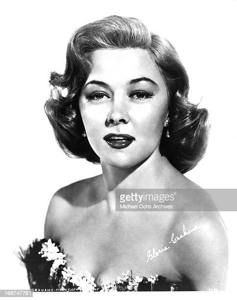 Actress Gloria Grahame poses for a portrait in circa 1950