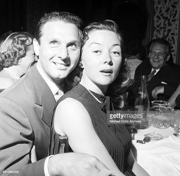 Actress Gloria Grahame with Cy Howard at Ciro's in Los Angeles California