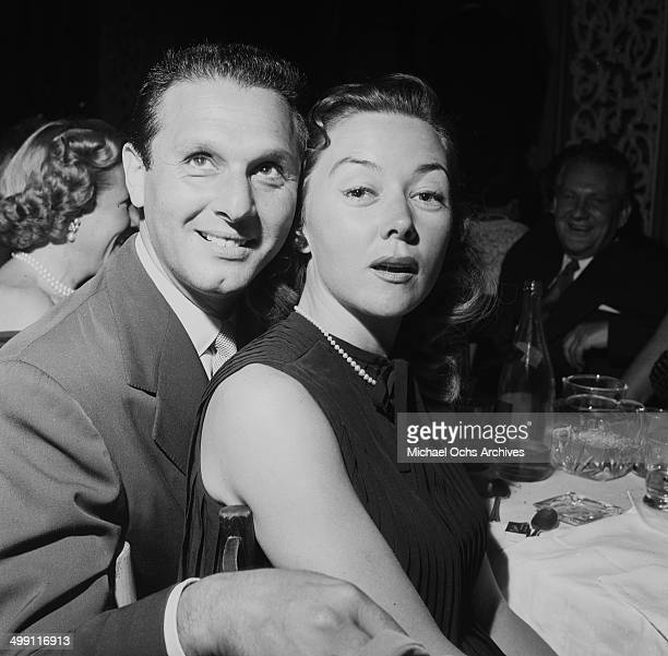 Actress Gloria Grahame with Cy Howard at Ciro's in Los Angeles California
