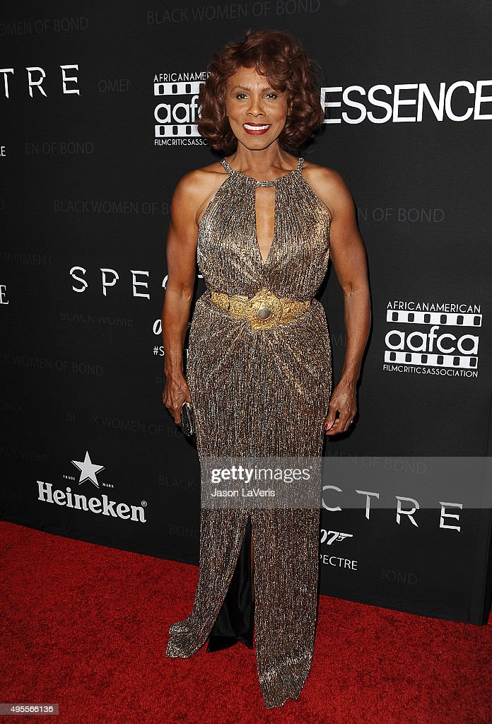 Actress Gloria Hendry attends 'Spectre' - The Black Women of Bond Tribute at California African American Museum on November 3, 2015 in Los Angeles, California.