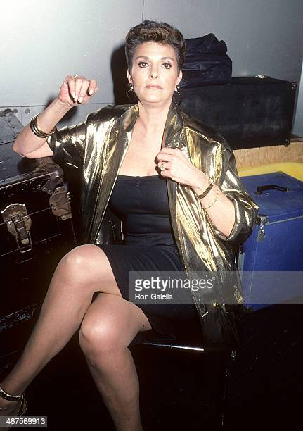 Actress Gloria Leonard on May 7 1986 at the Red Parrot in New York City