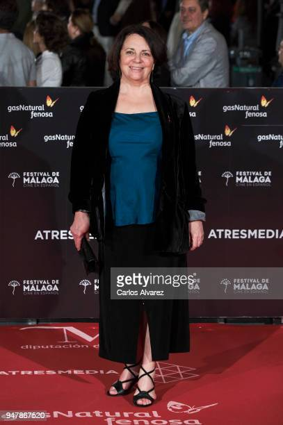 Actress Gloria Munoz premiere during the 21th Malaga Film Festival at the Cervantes Theater on April 17 2018 in Malaga Spain