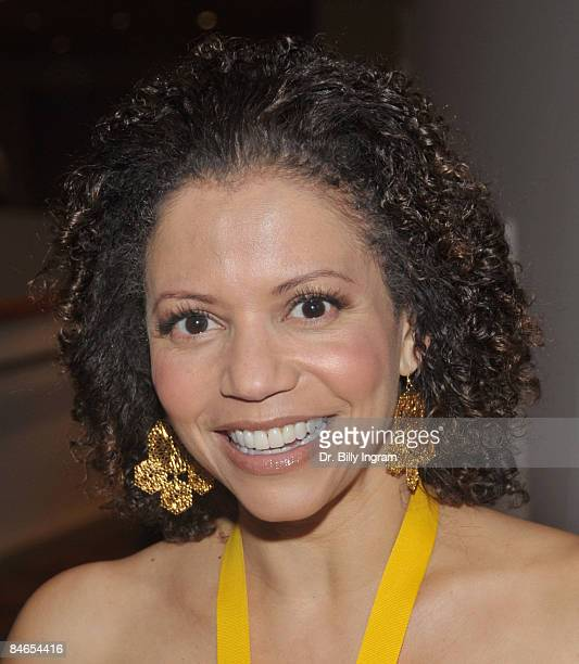 Actress Gloria Reuben arrives at the 8th Annual Heroes In The Struggle Gala at the Walt Disney Concert Hall on February 4 2009 in Los Angeles...