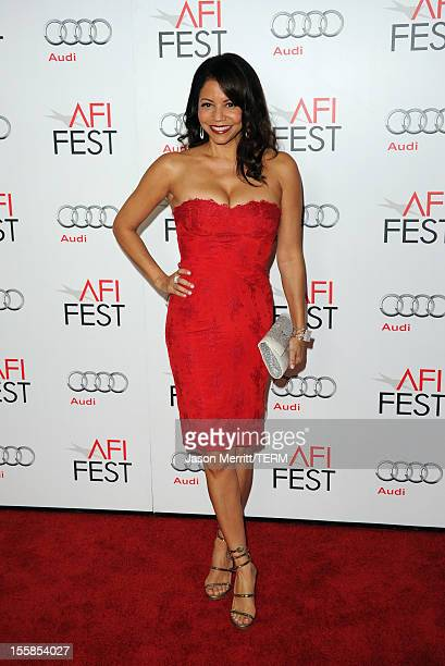 """Actress Gloria Reuben arrives at the """"Lincoln"""" premiere during AFI Fest 2012 presented by Audi at Grauman's Chinese Theatre on November 8, 2012 in..."""