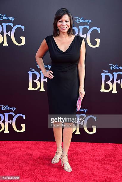 Actress Gloria Reuben attends Disney's The BFG premiere at the El Capitan Theatre on June 21 2016 in Hollywood California
