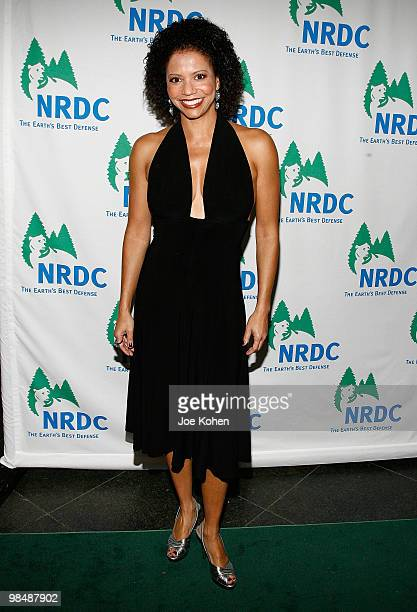 Actress Gloria Reuben attends the 12th annual 'Forces for Nature' gala benefit at Pier Sixty at Chelsea Piers on April 15 2010 in New York City