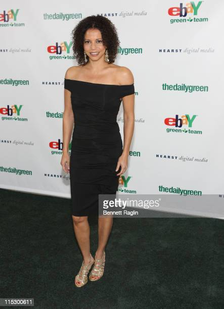 Actress Gloria Reuben attends the 2009 Heart of Green awards at the Hearst Tower on April 23 2009 in New York City