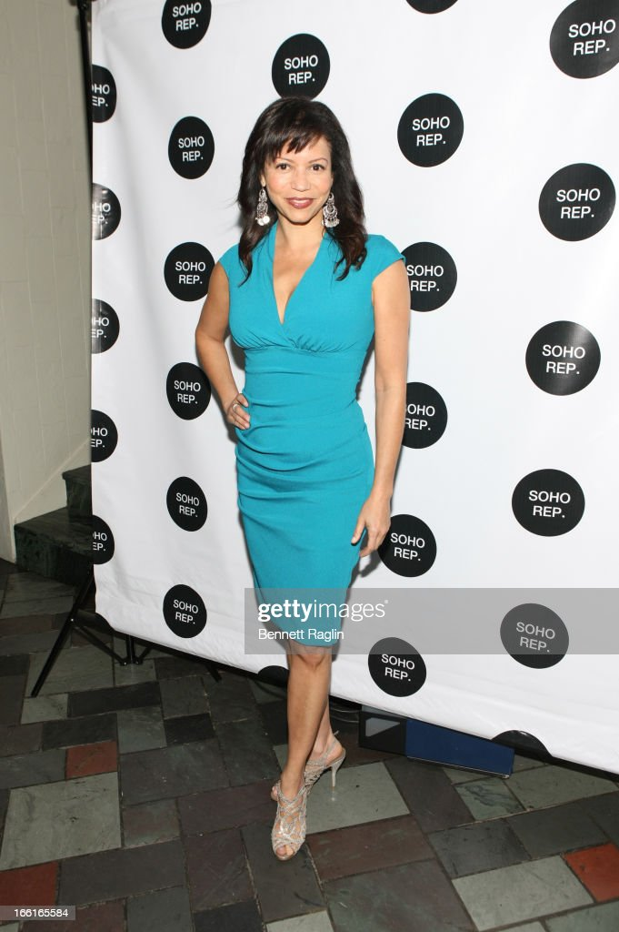 Actress Gloria Reuben attends the 36th Annual Soho Rep Spring Gala at Battery Garden Restaurant on April 8, 2013 in New York City.