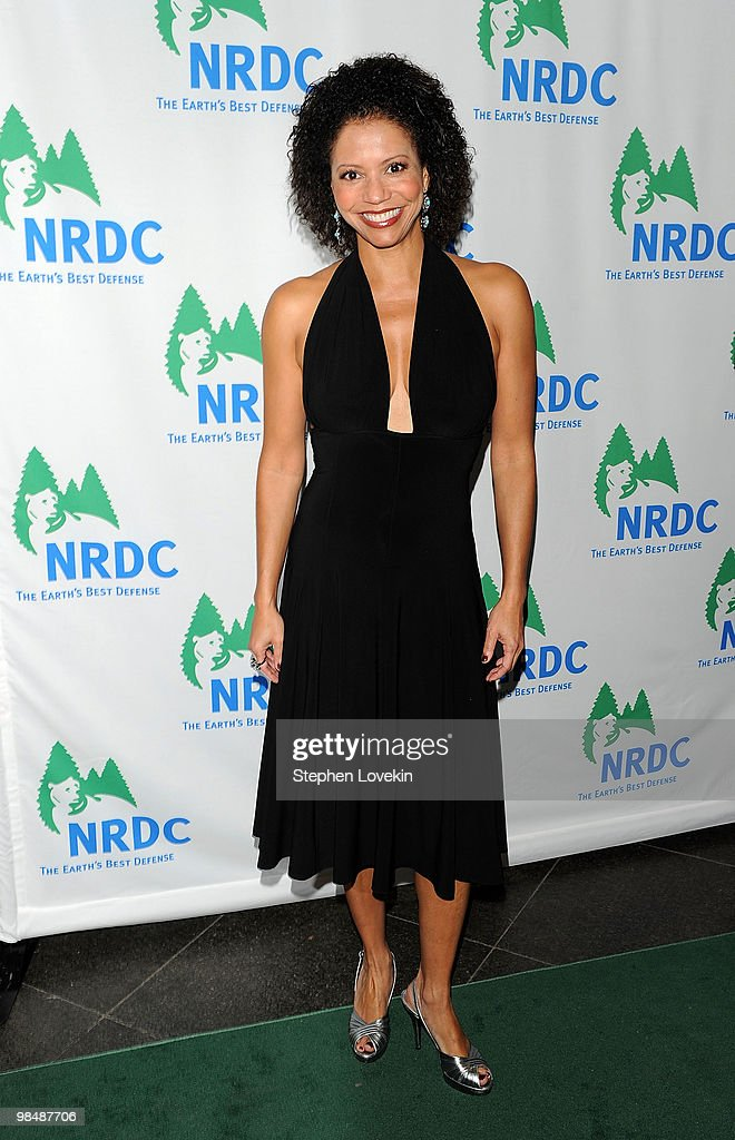Actress Gloria Reuben attends the Natural Resources Defense Council's 12th annual 'Forces for Nature' gala benefit at Pier Sixty at Chelsea Piers on April 15, 2010 in New York City.