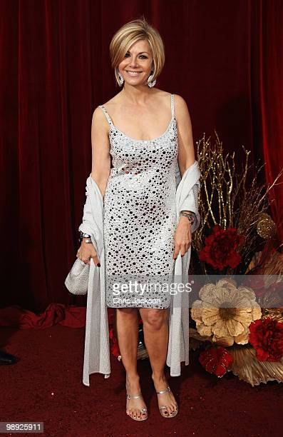 Actress Glynis Barber attends the 2010 British Soap Awards held at the London Television Centre on May 8 2010 in London England