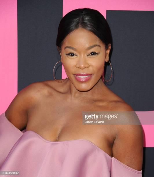 Actress Golden Brooks attends the premiere of Girls Trip at Regal LA Live Stadium 14 on July 13 2017 in Los Angeles California